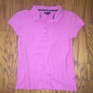 Gap kids- Girls pink polo
